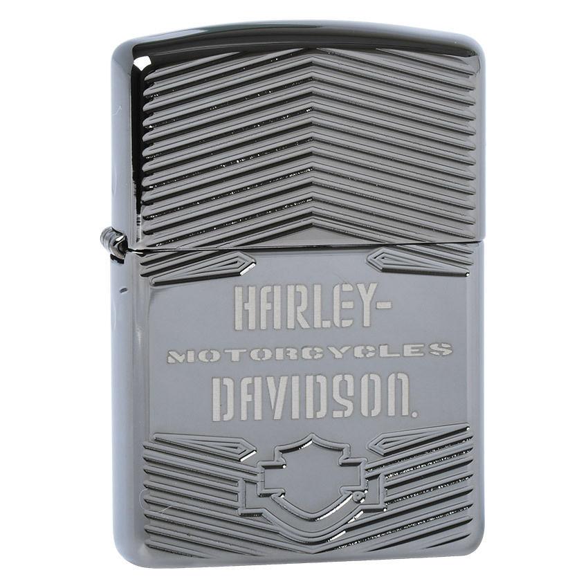 29165-Zippo-Armor-Harley-Davidson-Motorcycles-Black-Ice-1