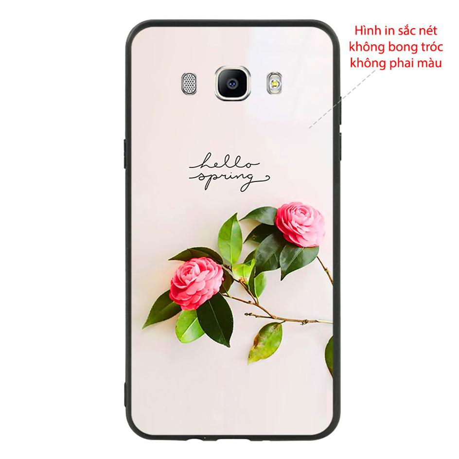 Ốp Lưng Viền TPU Dành Cho Samsung Galaxy J7 2016 - Spring 01
