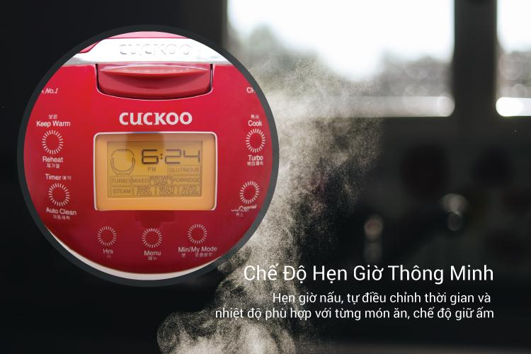 Nồi Cơm Điện Cuckoo CR-0655F (1.08 Lít)