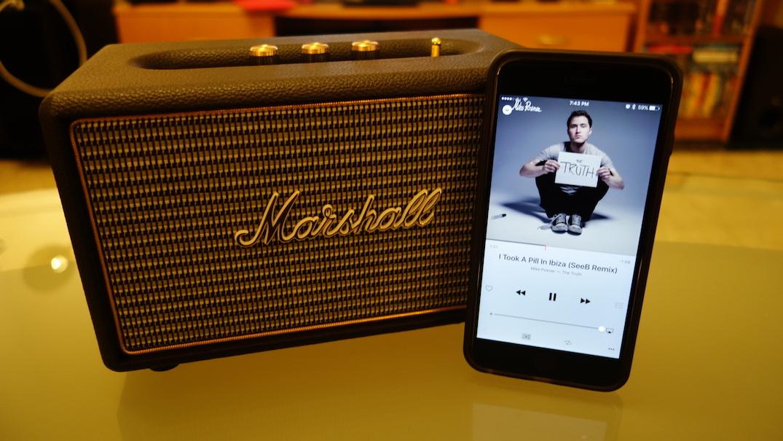 Loa Bluetooth Marshall Kilburn 2x5W+1x15W 5W - Hàng Chính Hãng