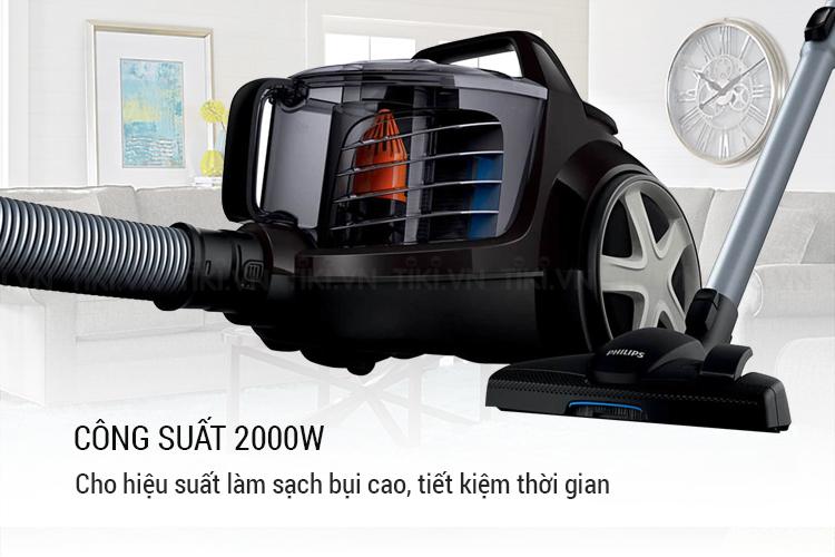 Máy Hút Bụi Philips FC8670 (2000W) - Đen