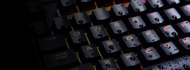 Bàn Phím Cơ Gaming Có Dây CORSAIR K68 RGB MX Blue CH-9102011-NA - Hàng chính hãng