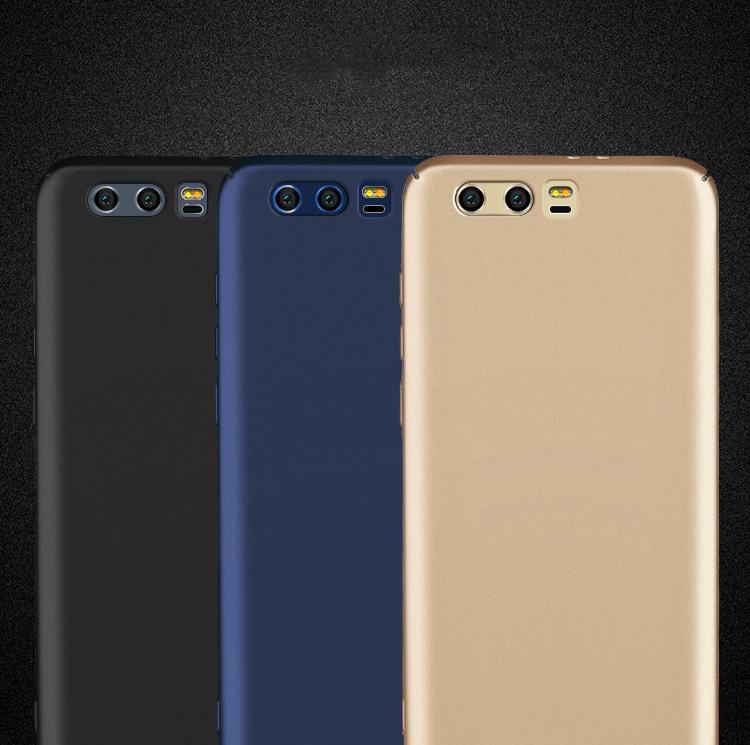Ốp Nhựa PC Cứng Freeson Huawei Honor 9 - Đen Trơn