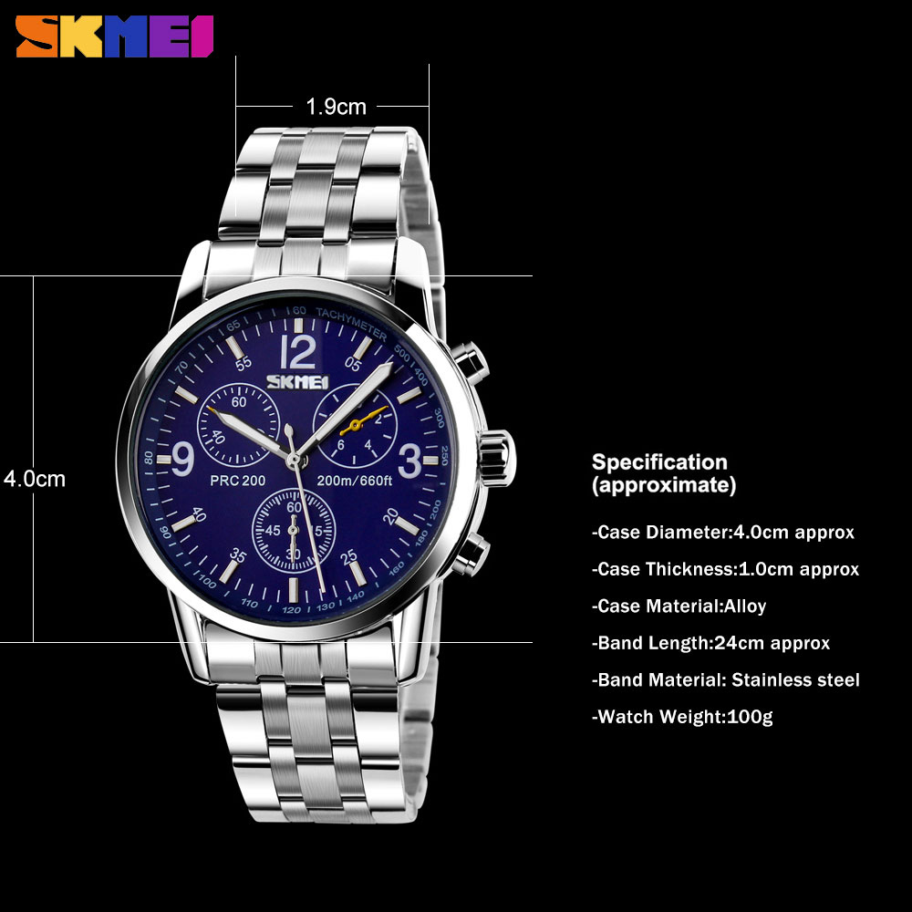 Đồng hồ Nam thời trang SKMEI 9070 - DHA060