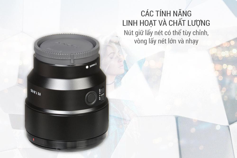 Lens Sony SEL 85mm F1.8