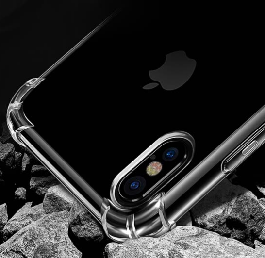 Ốp Lưng Silicone Trong Suốt Cho iPhoneX Yueke