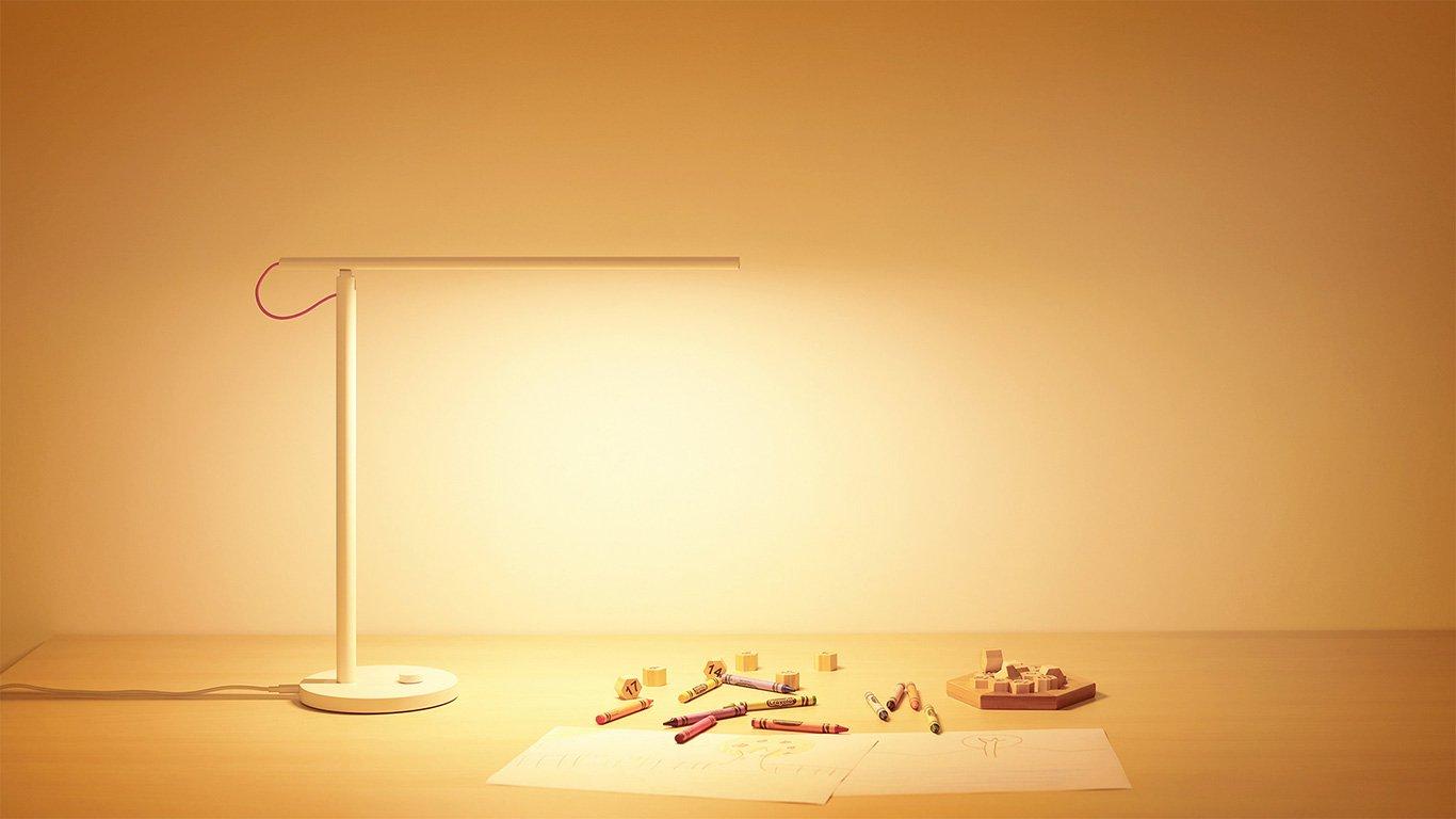 Đèn Bàn Thông Minh Xiaomi Mi LED Desk Lamp EU - MUE4066GL - Hàng Chính Hãng