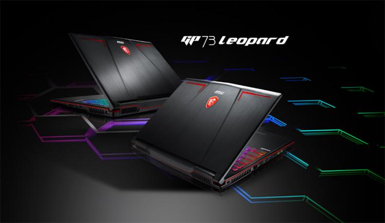 Laptop Gaming MSI GP73 8RE-429VN Leopard Core i7-8750H/Win10 (17 3 inch)  (Black) - Hàng Chính Hãng