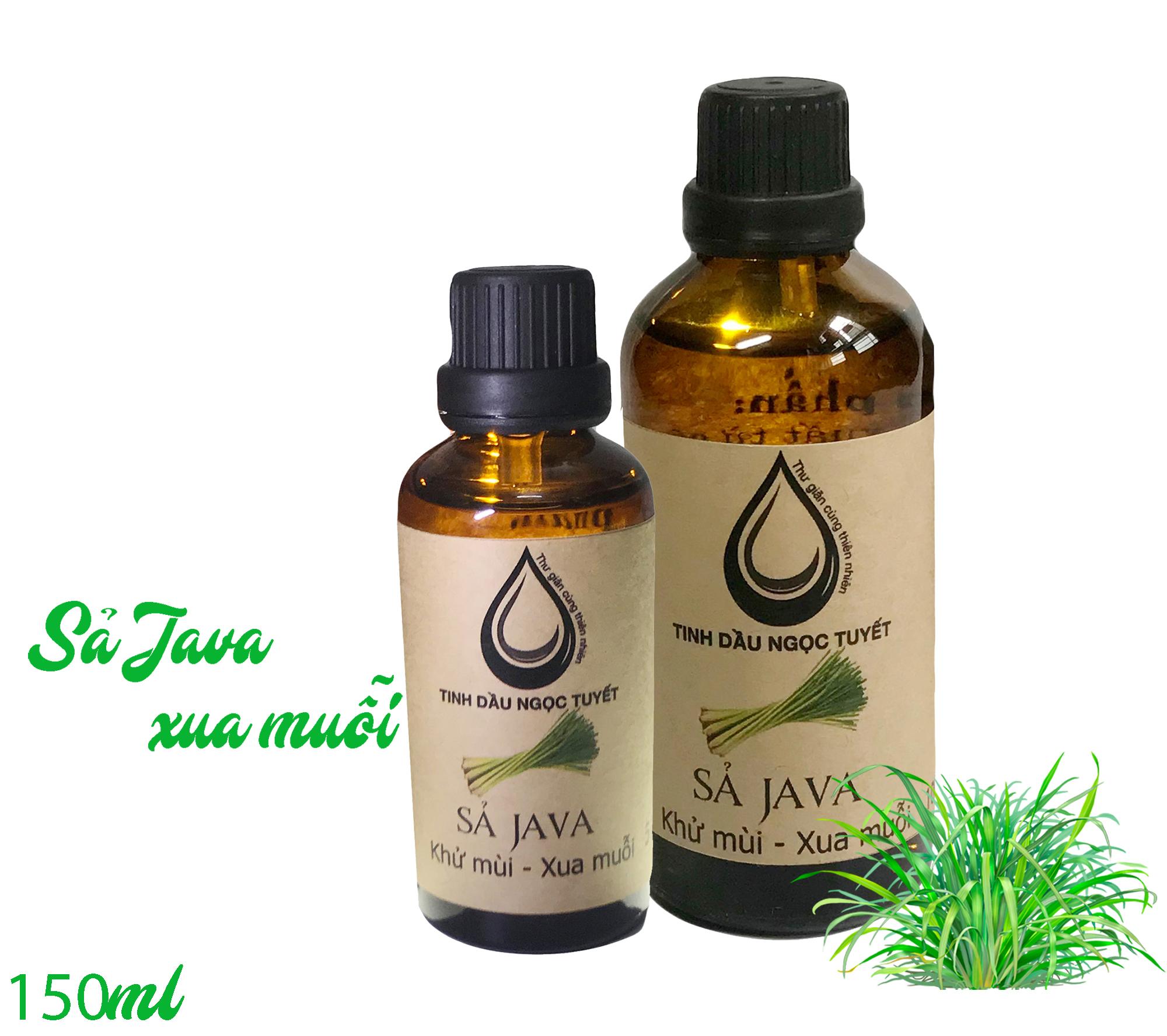 Combo 2 chai tinh dầu sả Java chuyên đuỗi muỗi và khử mùi