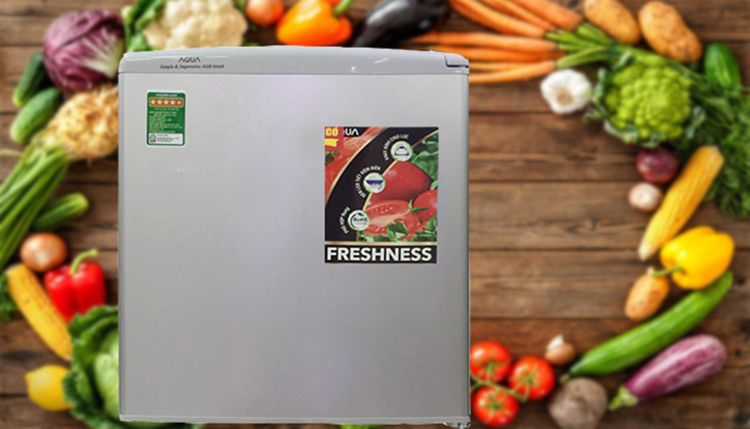Tủ Lạnh Mini Aqua AQR-95ER-SS (90L)