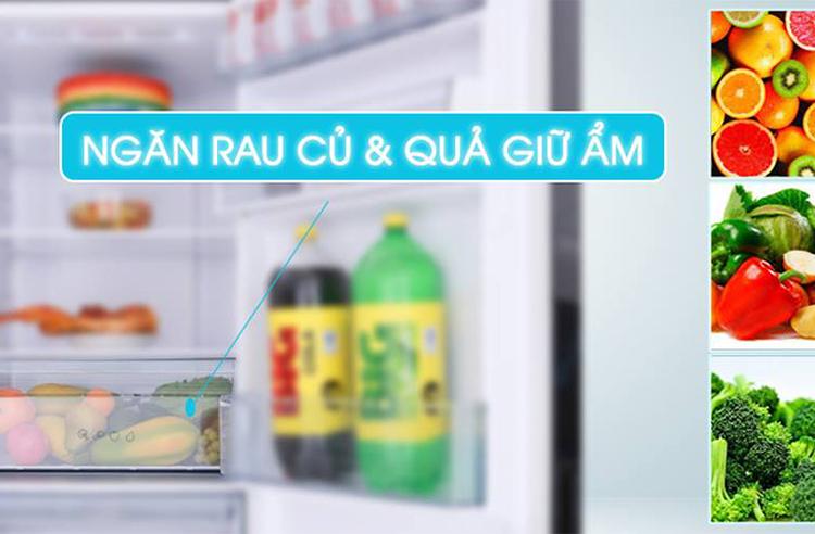 Tủ Lạnh Inverter Panasonic NR-BV289QKV2 (255L)