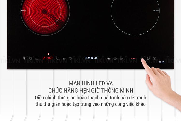 Bếp Hồng Ngoại - Điện Từ Taka IR2B