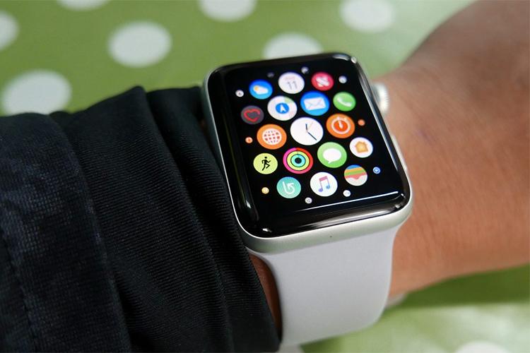 Đồng Hồ Thông Minh Apple Watch Series 3 GPS Silver Aluminium Case With Fog Sport Band