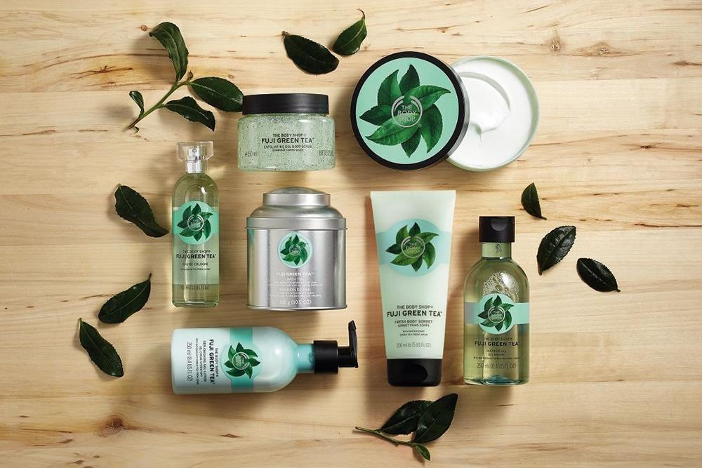 Gel Tắm The Body Shop Fuji Green Tea (250ml)