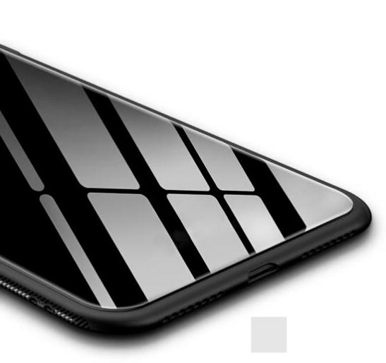 Ốp Lưng Kính Viền Mềm Cho Iphone 7/8 Plus Stryfer - Trắng