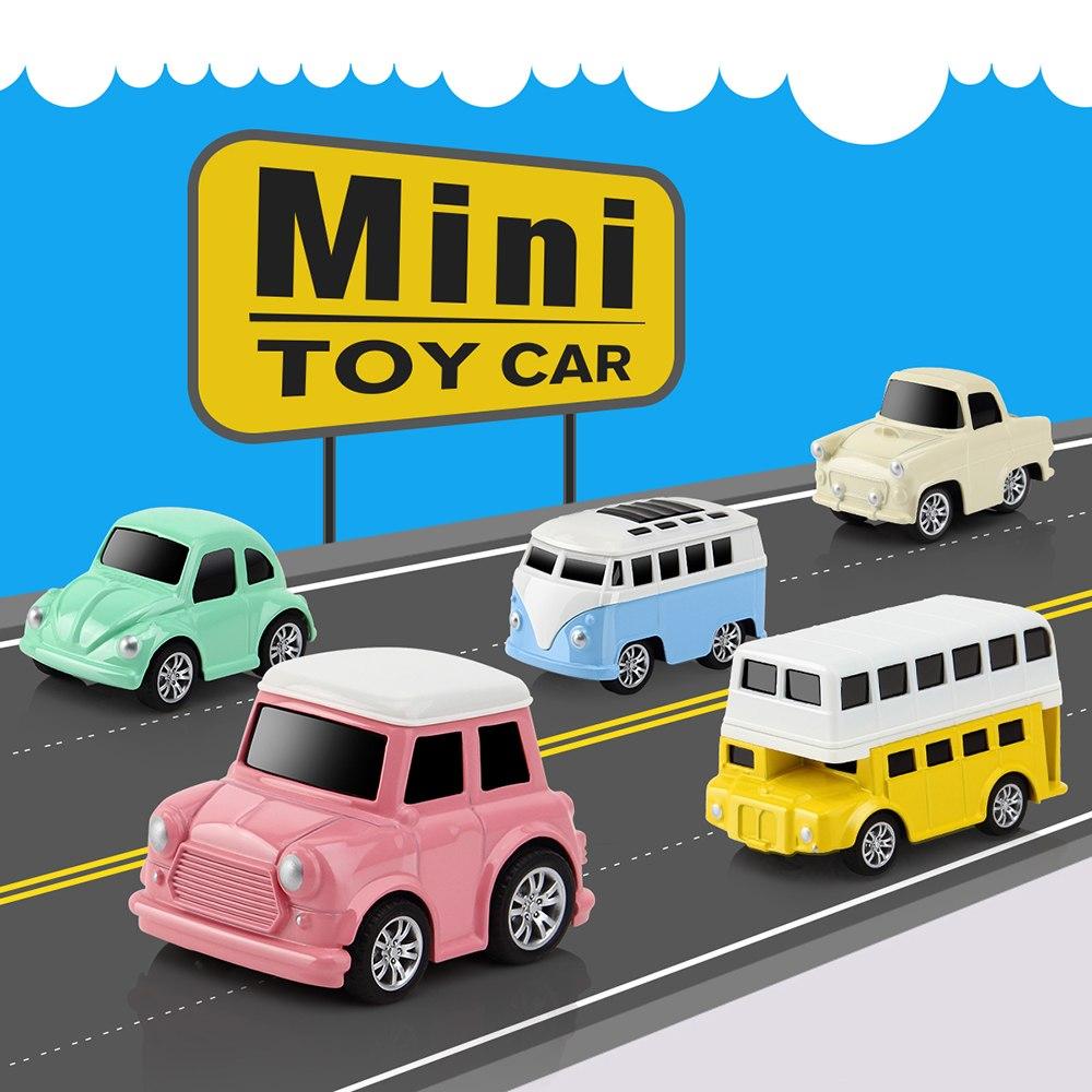 Bộ 6 Ô Tô Mô Hình Đồ Chơi DODOELEPHANT Brinquedo Toys Cho Bé Trai