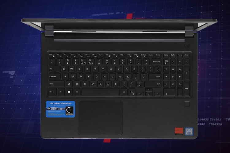 Laptop Dell Vostro 3578 NGMPF2 Core i5-8250U/Free Dos (15.6 inch) (Black) - Hàng Chính Hãng