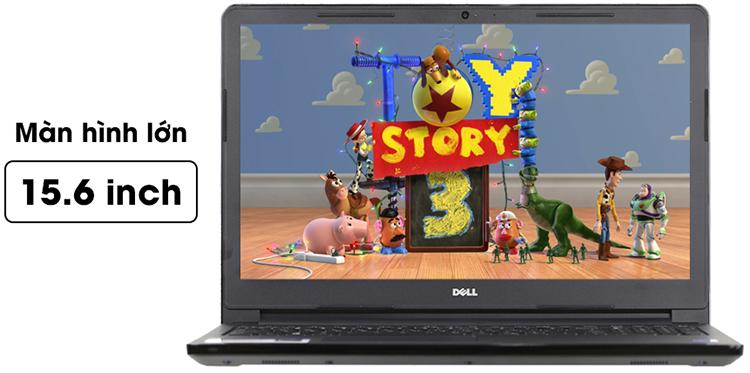 Laptop Dell Vostro 3578 V3578B Core i5-8250U (Black) - Hàng Chính Hãng