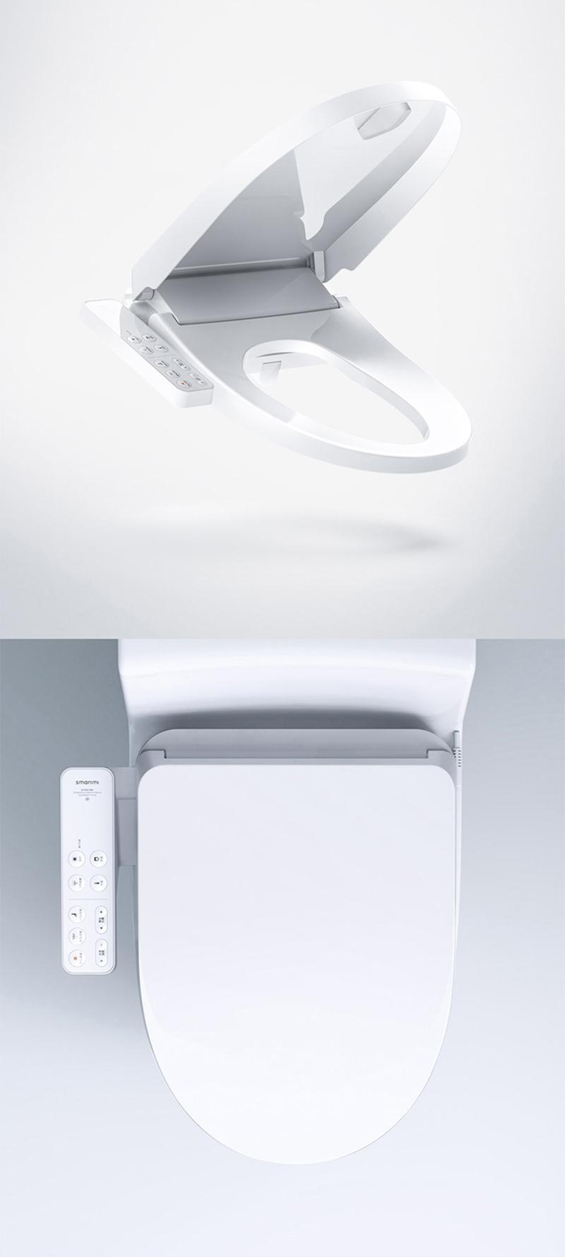 Nắp Bồn Cầu Điện Tử Thông Minh Xiaomi (Mijia) SMART MI ZNMTG01ZM