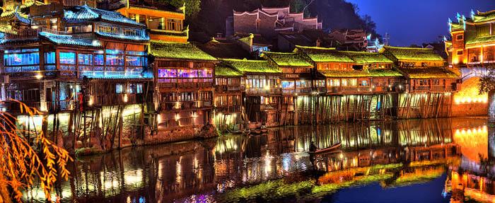 Tour Hà Nội - Trương Gia Giới - Phù Dung Trấn - Phượng Hoàng Cổ Trấn 6 Ngày 5 Đêm, Khách Sạn 4 Sao 5
