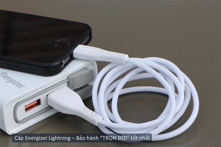 Cáp Lightning LW Energizer 1.2m- C41UBLIG