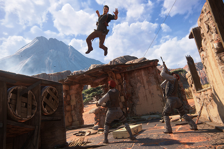 Đĩa Game PlayStation PS4 Sony Uncharted 4 A Thief End Hệ Asia
