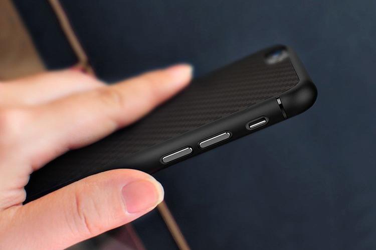 Ốp Lưng Sợi Carbon Nillkin Cho iPhone 6 Plus / 6S Plus - Hàng Chính Hãng