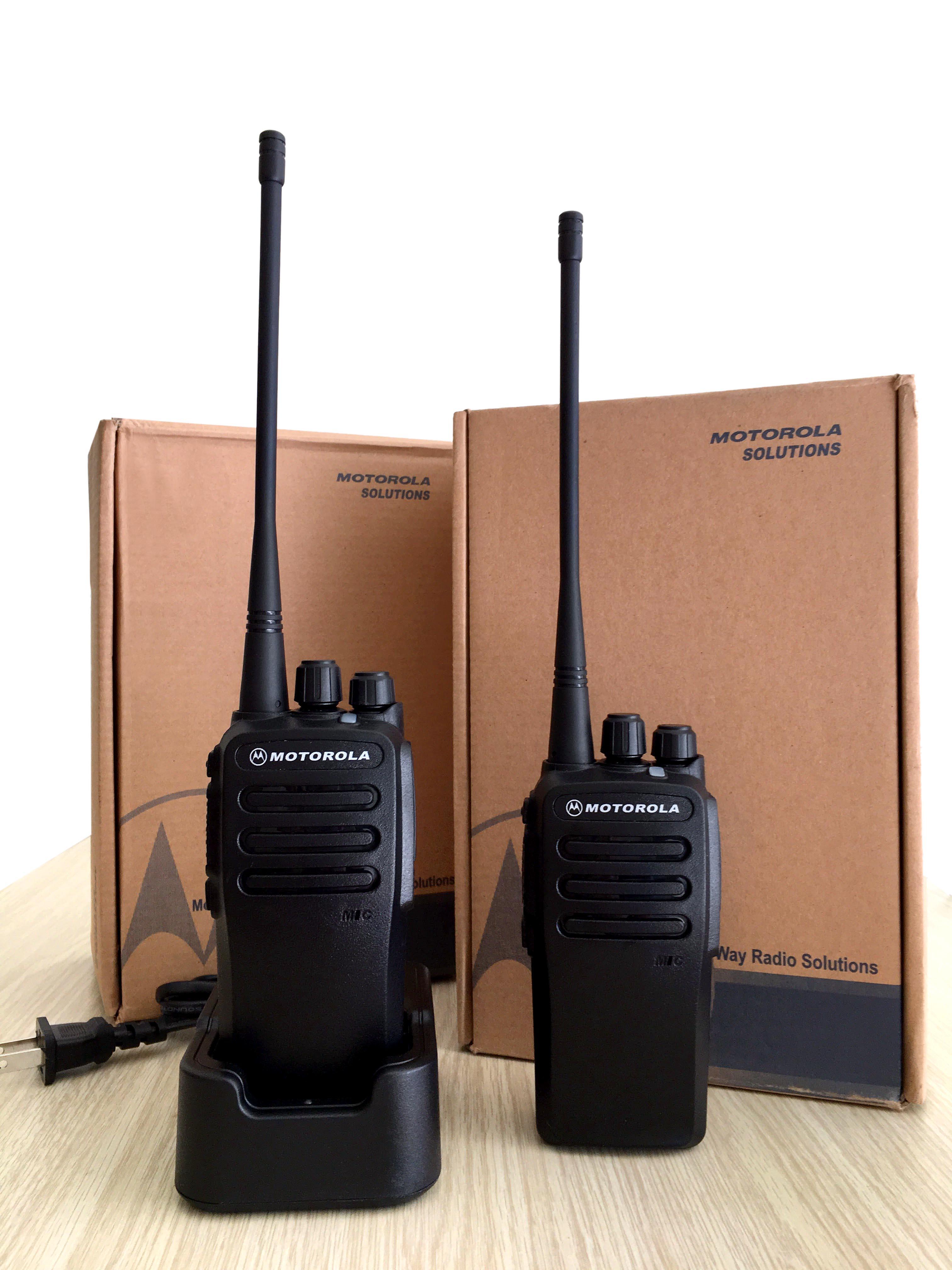 Bộ đàm Motorola GP 3588 Plus(Đen) - Công suất lớn 12W