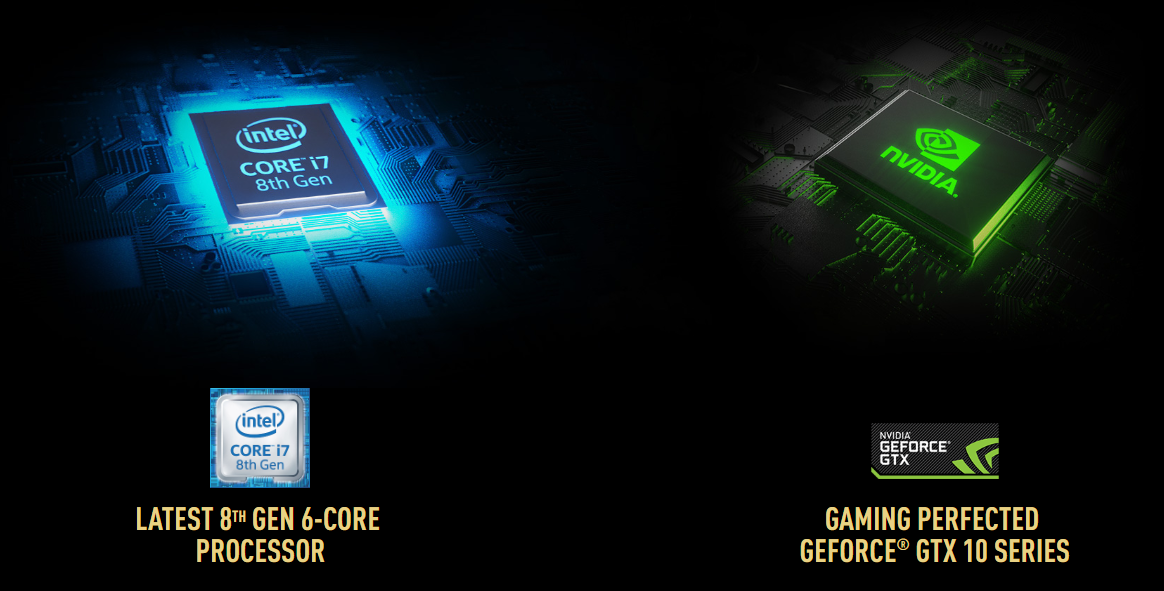 Laptop Gaming MSI GS65 Stealth Thin 8RE-208VN Core i7-8750H/Win10 (15.6 inch) - Black - Hàng Chính Hãng