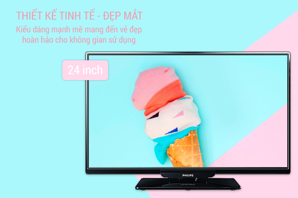 Tivi LED Philips 24 inch 24PHT4101S/67