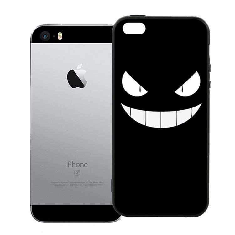 Ốp Lưng Viền TPU Cao Cấp Dành Cho iPhone 5/5s - Monster 01