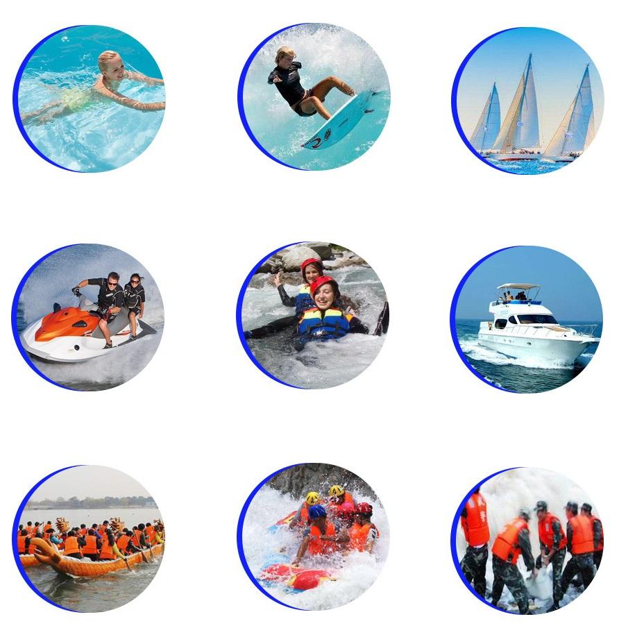 Áo phao bơi cứu hộ HISEA, chuyên dùng cho các môn thể thao mạo hiểm, đặt tiêu chuẩn EU cao cấp - POKI