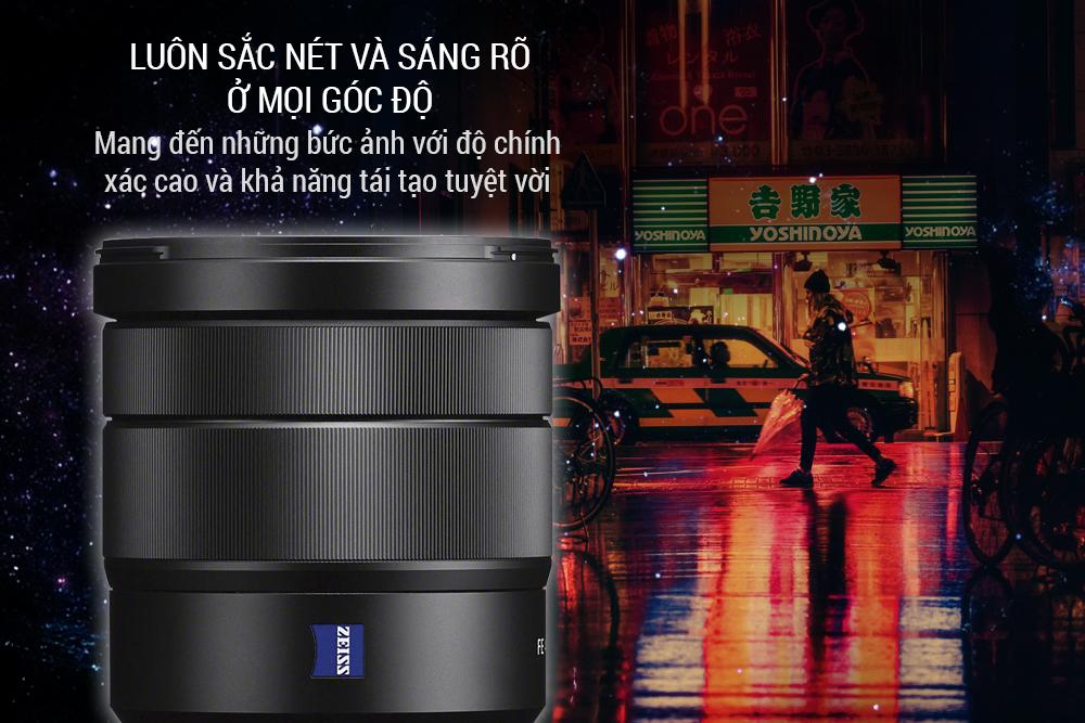 Lens Sony Vario-Tessar T* FE 16-35mm F4 ZA OSS - Hàng Chính Hãng