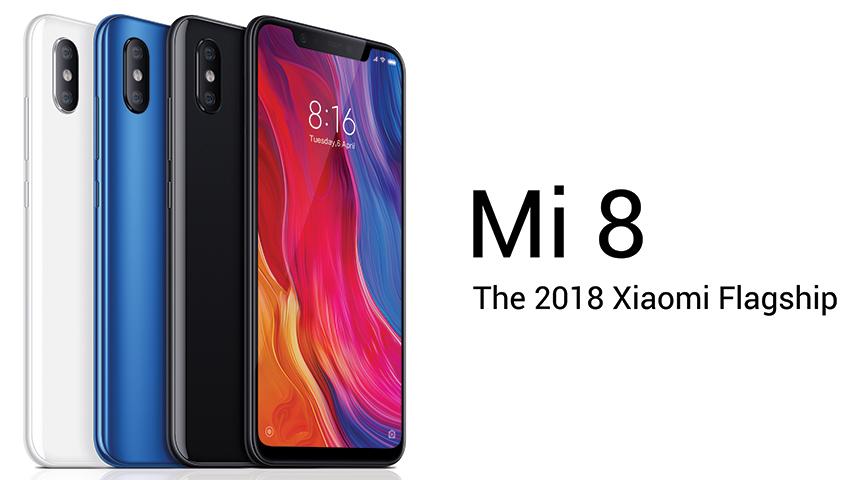Điện Thoại Xiaomi Mi 8 (128GB/6GB) - Hàng Chính Hãng