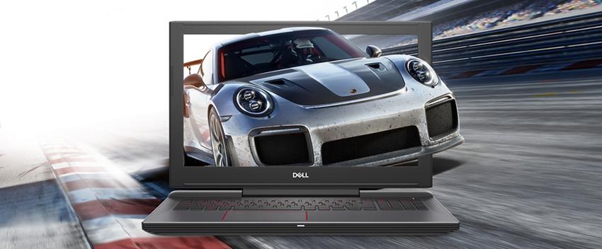 Laptop Dell Inspiron 7577 70138769 Core i5-7300HQ/ Win 10 (15.6 inch) - Đen - Hàng Chính Hãng