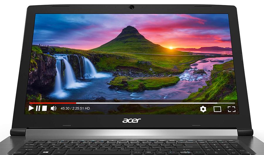 Laptop Acer Aspire 7 A715-71G-52WP NX.GP8SV.005 Core i5-7300HQ/Free Dos (15.6 inch) - Black - Hàng Chính Hãng