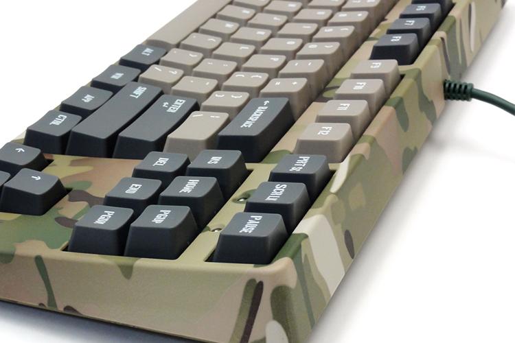 Bàn Phím Cơ Có Dây Filco Majestouch 2 Camouflage-R 87 FKBN87MC/EMR2 Tenkeyless - Hàng Chính Hãng