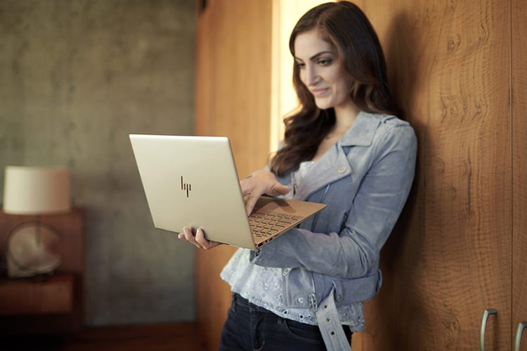 Laptop HP Envy 13-ad159TU 3MR74PA Core i5-8250U/Win10 (13.3 inch) - Hàng Chính Hãng - Gold