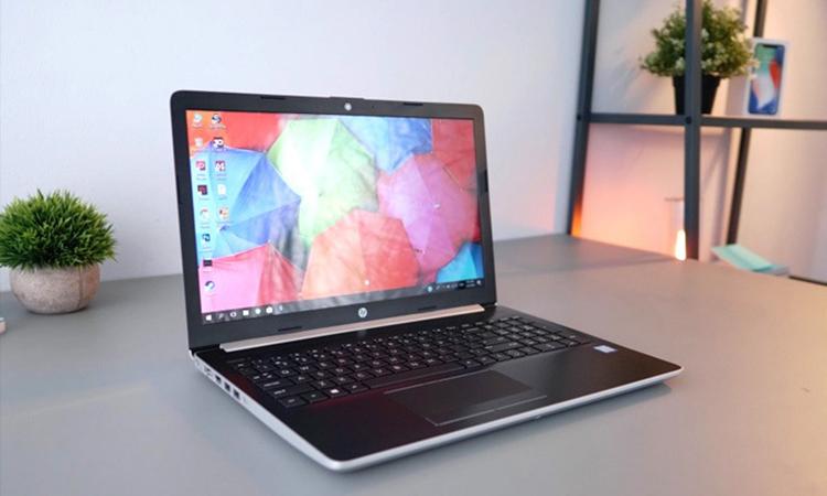 Laptop HP 15-da0035TX 4ME72PA Core i7-8550U/Win10 (15.6 inch) (Silver) - Hàng Chính Hãng