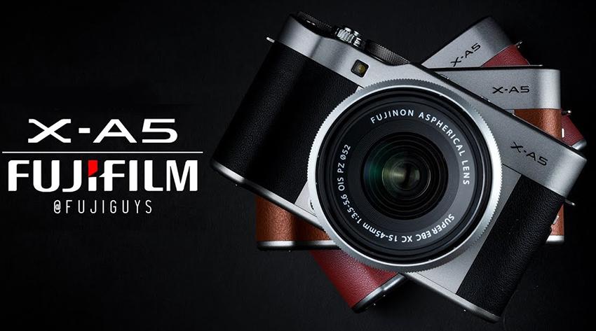 Máy Ảnh Fujifilm X-A5 + lens 15-45mm F3.5-5.6 OIS (24.2MP) - Hàng Chính Hãng = 9.650.000đ