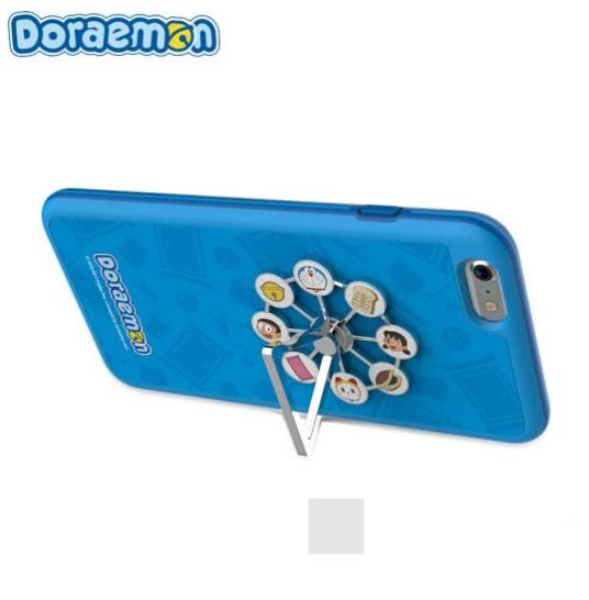 Ốp Điện Thoại Hình Vòng Quay Doraemon 5.5 inch cho iPhone 6s Plus Rock- Xanh