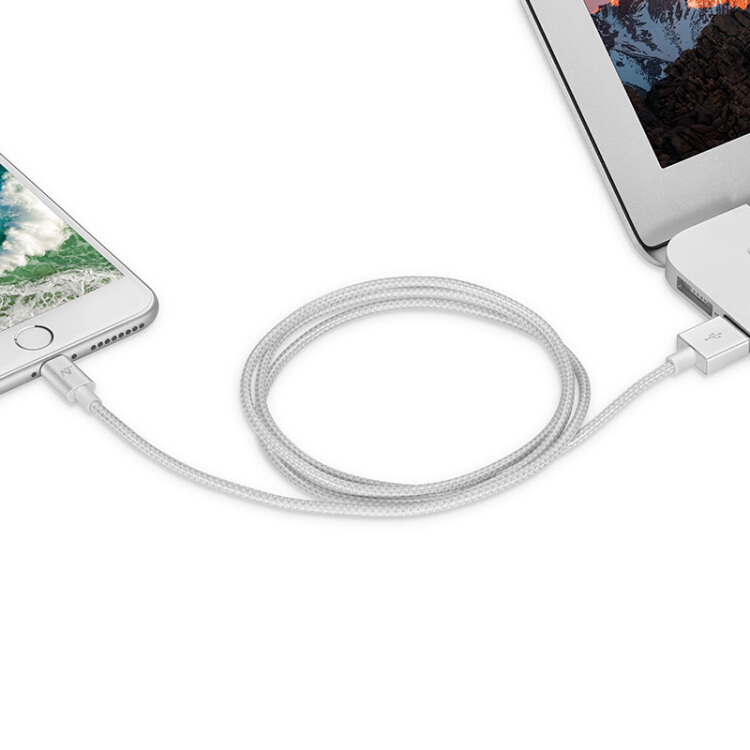 Cáp Sạc NetEast Cho iphone / iPad 1M - Trắng