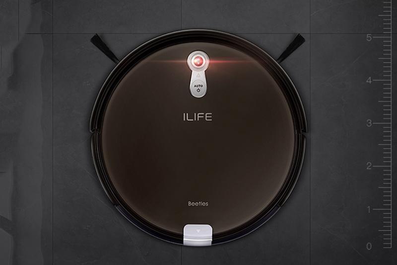 Robot Hút Bụi Lau Nhà iLife X660 (2000W) - Đen