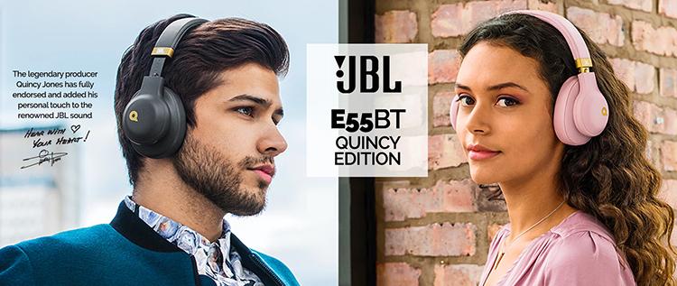 Tai Nghe Không Dây JBL Quincy Edition E55BTQE - Hàng Chính Hãng