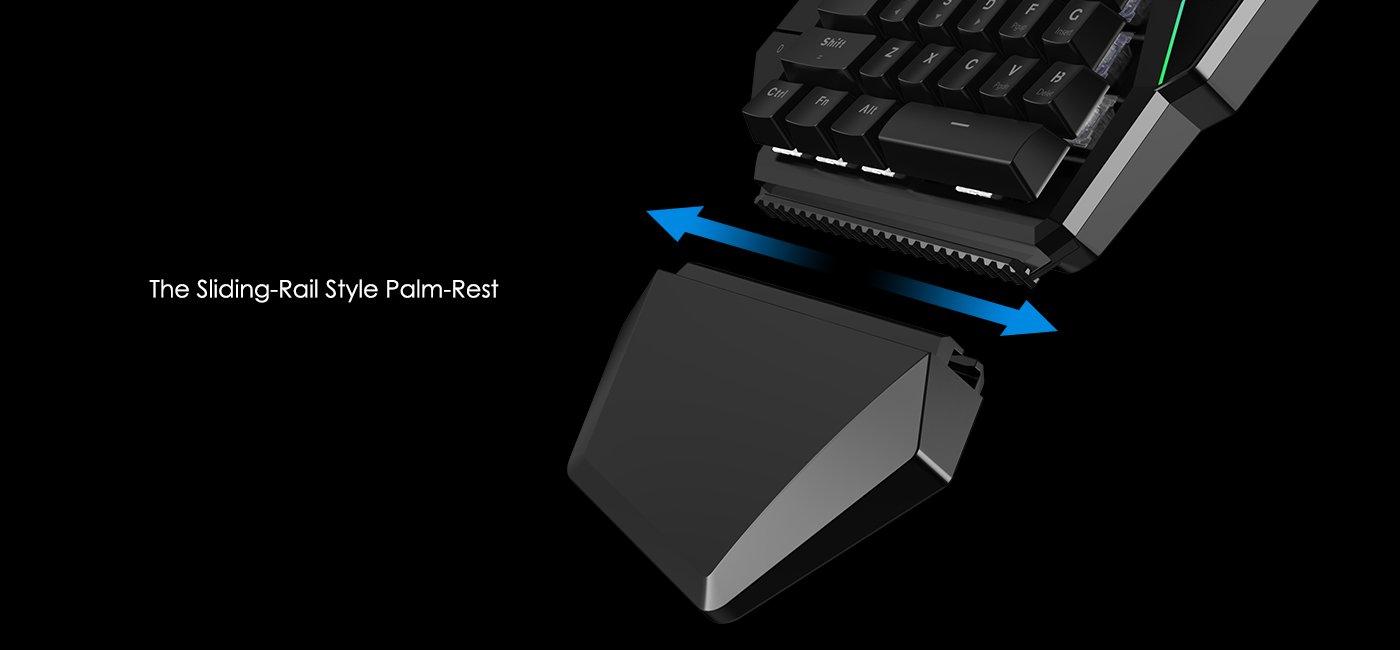 Combo Bàn phím cơ một tay Gamesir GK100 Gaming Keypad + Dock GameSir X1 tặng chuột Dragon