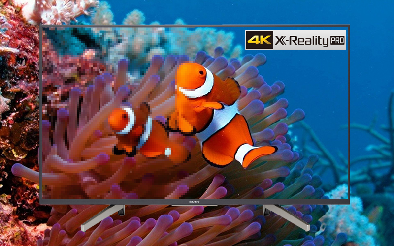 Android Tivi Sony 55 inch 4K UHD KD-55X7500F VN3