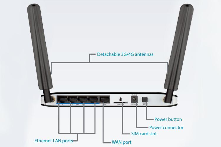 D-Link DWR-921 - Bộ Phát Wifi Di Động 4G N300Mbps - Hàng Chính Hãng