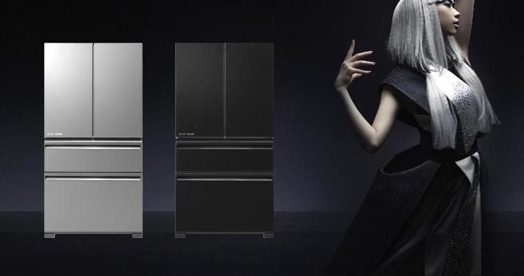 Tủ Lạnh Inverter Mitsubishi MR-LX68EM-V (564L)