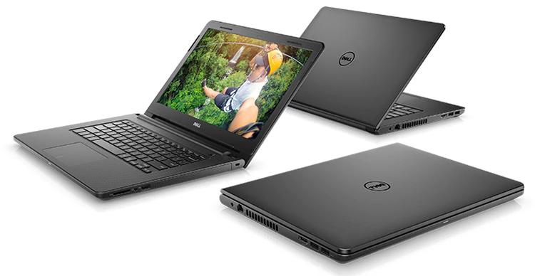 Laptop Dell Inspiron 3476 N3476A Core i5-8250U (Black) - Hàng Chính Hãng