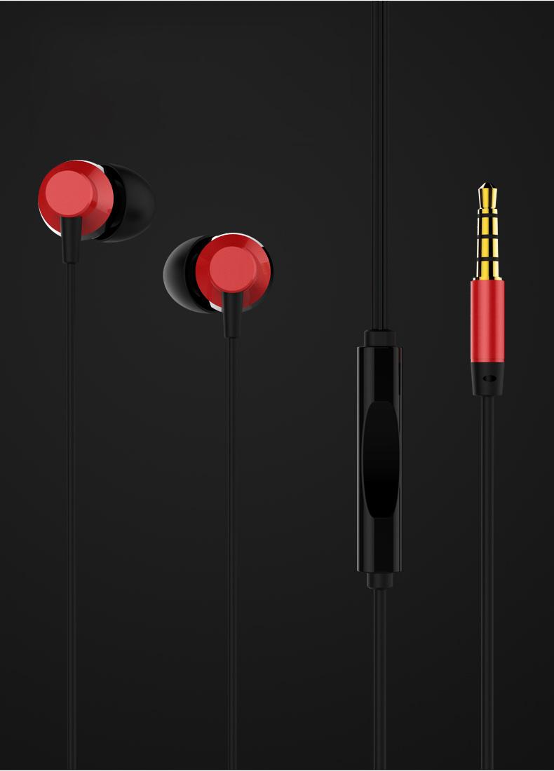 Tai nghe nhét tai Remax Metal RM-512 - Hàng nhập khẩu